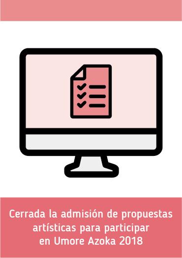 cerrada admisión propuestas