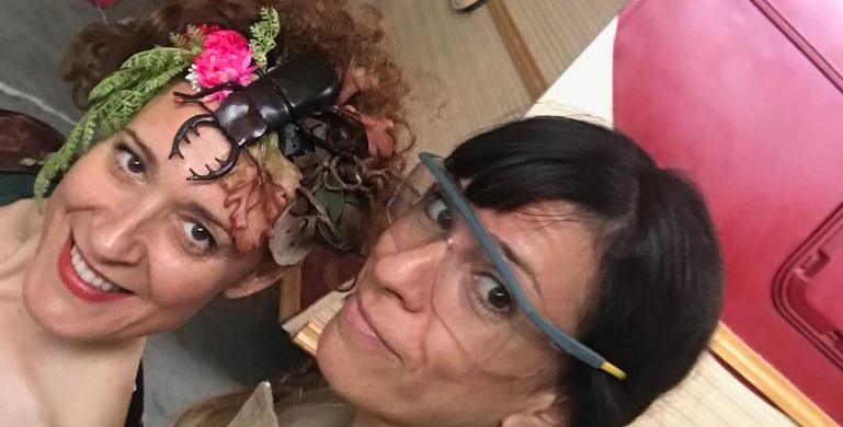 """Territorio Violeta-Diminuto Teatro Sobre Ruedas: """"Una situación insostenible"""""""