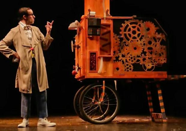 "Circo Dabitxi: ""La máquina y yo"""